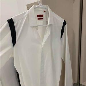 Hugh Boss tuxedo shirt